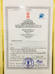 Registered from GOVT of india